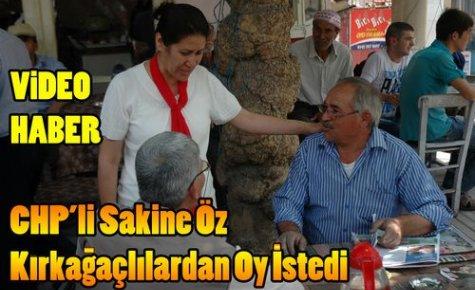 CHP'li Öz, Kırkağaçlılardan Destek İstedi(VİDEO)