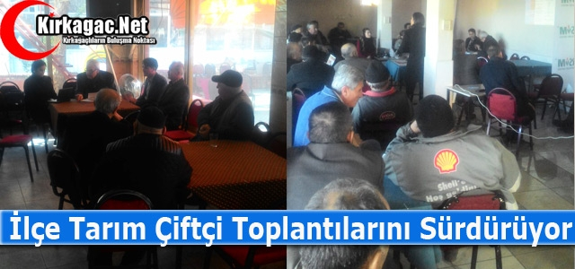 "ÇİFTÇİLERE 'TARIM SİGORTALARI UYGULAMALARI"" ANLATILDI"