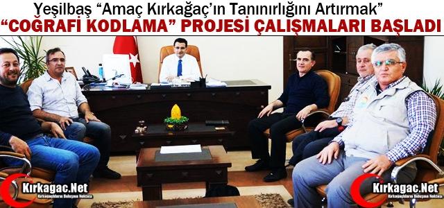 """""""COĞRAFİ KODLAMA PROJESİ"""" HAZIRLIK ÇALIŞMALARI BAŞLADI"""