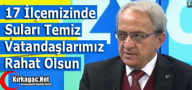 COŞKUN '17 İLÇENİNDE SULARI TEMİZ'