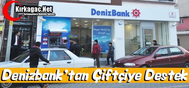 DENİZBANK'TAN ÇİFTÇİLERE DESTEK