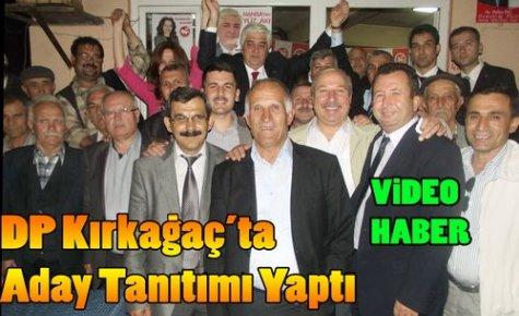 DP'li Adaylar Kırkağaç'ta Tanıtıldı(VİDEO)