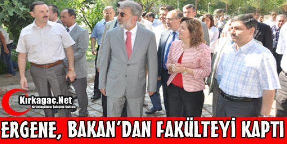 ERGENE BAKAN YILDIZ'DAN FAKÜLTEYİ KAPTI
