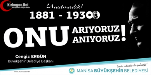 ERGÜN 'İLKE ve DEVRİMLERİ YOLUMUZU AYDINLAYMAYA DEVAM EDECEK'