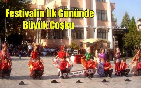 FESTİVALDE 1.GÜN COŞKUSU
