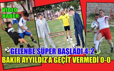 FUTBOL TURNUVASI SÜPER BAŞLADI(VİDEO)