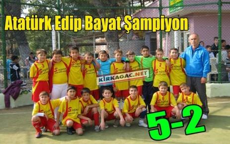 FUTBOLDA ŞAMPİYON EDİP BAYAT 5-2