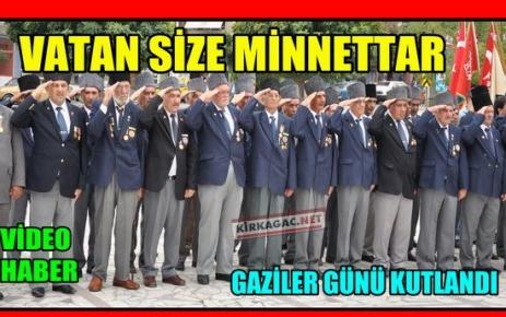 GAZİLER GÜNÜ COŞKUYLA KUTLANDI(VİDEO)
