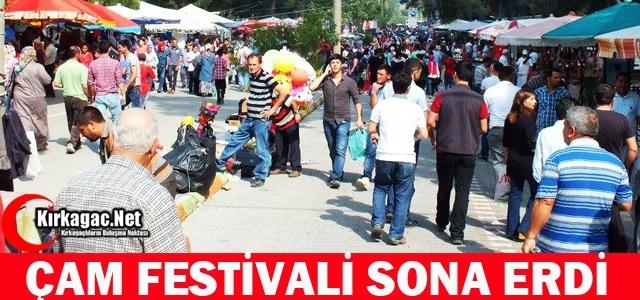 GELENEKSEL ÇAM FESTİVALİ SONA ERDİ