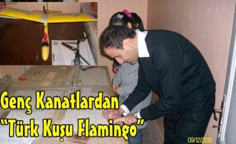 Genç Kanatlardan 'Türk Kuşu Filamingo'