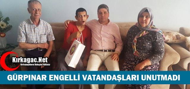 GÜRPINAR ENGELLİ VATANDAŞLARI UNUTMADI