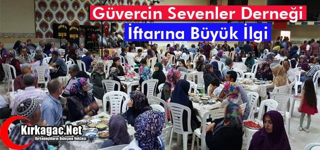 GÜVERCİN SEVENLER DERNEĞİ İFTARINA BÜYÜK İLGİ