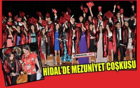HİDAL'DE MEZUNİYET COŞKUSU