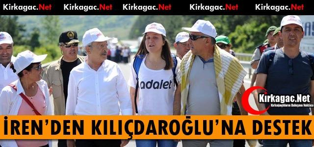 İREN'DEN KILIÇDAROĞLU'NA DESTEK