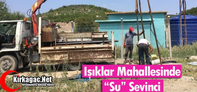 IŞIKLAR'DA SU SEVİNCİ