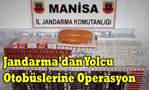 JANDARMA'DAN OTOBÜSLERE OPERASYON
