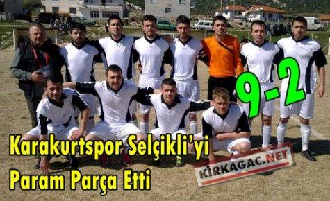 Karakurt,Seçlikli'ye Gol Yağdırdı 9-2