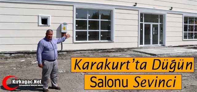 KARAKURT'TA DÜĞÜN SALONU SEVİNCİ