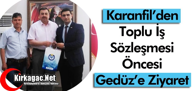 KARANFİL'DEN GEDÜZ'E ZİYARET