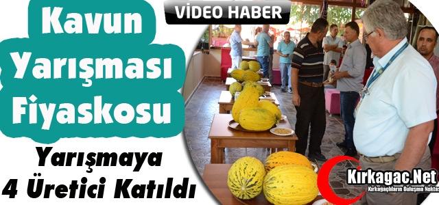 KAVUN YARIŞMASI FİYASKOSU(VİDEO)
