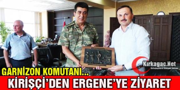 KİRİŞÇİ'DEN ERGENE'YE ZİYARET