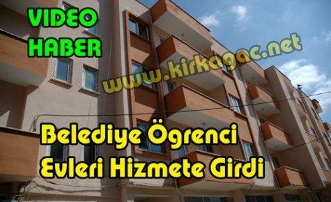 Kırkağaç Belediyesi Öğrenci Evleri Hizmete Girdi