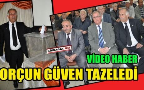 KIRKAĞAÇ DP'DE ORÇUN, GÜVEN TAZELEDİ