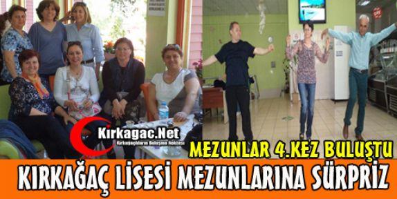 KIRKAĞAÇ LİSESİ MEZUNLARINA 'SİS'Lİ KUTLAMA