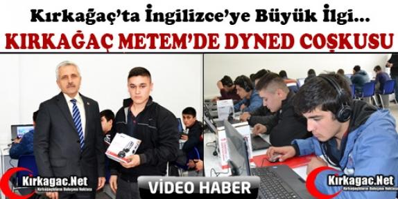KIRKAĞAÇ METEM'DE İNGİLİZCE COŞKUSU(VİDEO)
