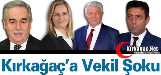 "KIRKAĞAÇ'A ""VEKİL"" ŞOKU"