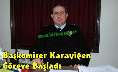 Kırkağaç'a Yeni Başkomiser