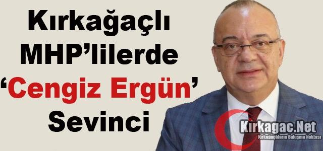 KIRKAĞAÇLI MHP'LİLERİN 'CENGİZ ERGÜN' SEVİNCİ