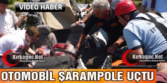 KIRKAĞAÇ'TA FECİ KAZA(VİDEO)