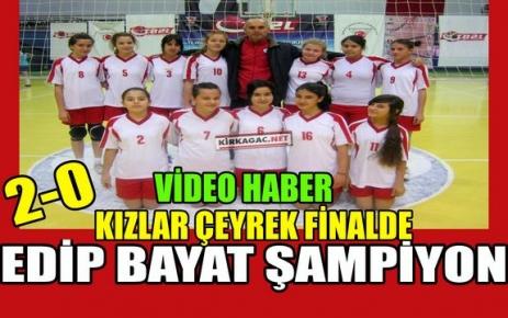 KIZLARIMIZ GRUBUNDA ŞAMPİYON 2-0(VİDEO)