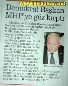 Martin MHP'ye Göz Kırptı