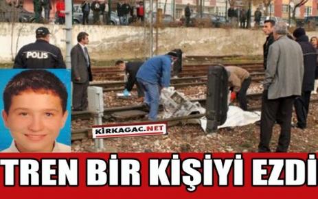 MEHMET'İ TREN EZDİ