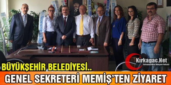 MEMİŞ'TEN HİZMET BİNASINA ZİYARET