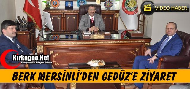 MERSİNLİ'DEN GEDÜZ'E ZİYARET(VİDEO)