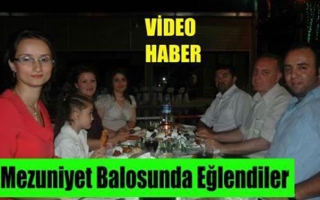 Mezuniyet Balosunda Eğlendiler(VİDEO)