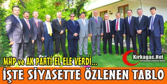 MHP ve AK PARTİ EL ELE VERDİ