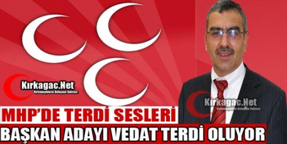 MHP'DE BAŞKAN ADAYI TERDİ OLUYOR
