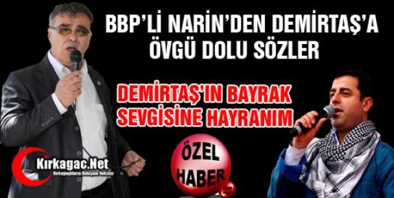 """NARİN 'DEMİRTAŞ'IN BAYRAK SEVGİSİNE HAYRANIM"""""""