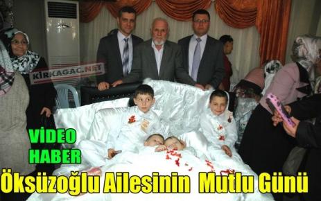 Öksüzoğlu Ailesinin Mutlu Günü(VİDEO)