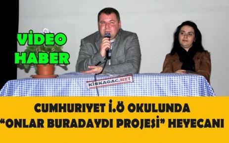 'ONLAR BURADAYDI PROJESİ' HEYECANI(VİDEO)