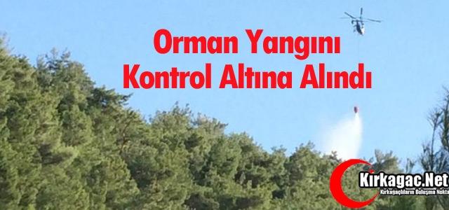 ORMAN YANGINI KONTROL ALTINA ALINDI