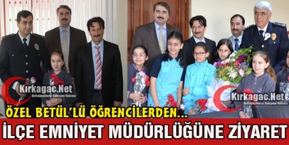 ÖZEL BETÜL KOLEJİ'NDEN UYSAL'A ZİYARET