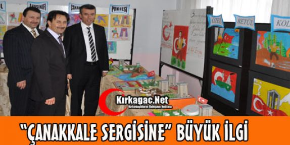 ÖZEL BETÜL'DEN 'ÇANAKKALE RUHU' SERGİSİ