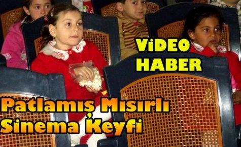Patlamış Mısırlı Sinema Keyfi(VİDEO)