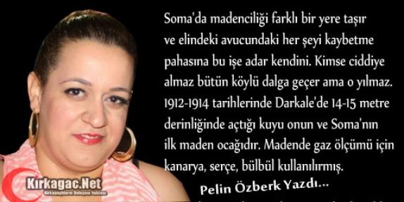PELİN ÖZBERK 'DERS ALMAZSAN TARİH HEP TEKERRÜR EDER'