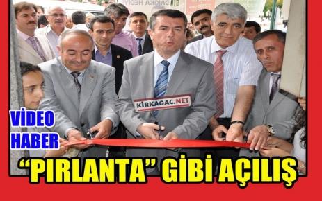 "'PIRLANTA"" GİBİ AÇILIŞ(VİDEO)"